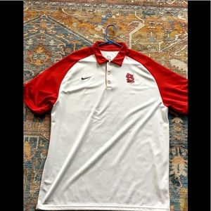 Nike Dri-Fit St. Louis Cardinals Polo